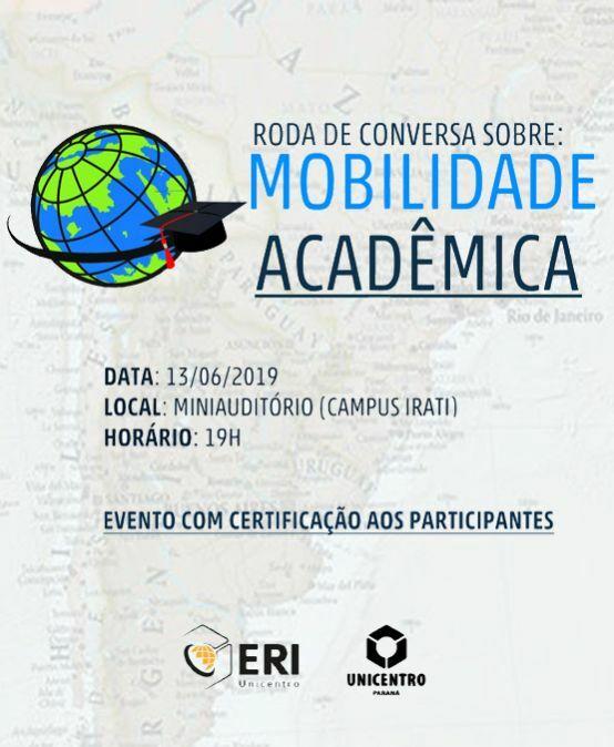 Roda de Conversa Sobre: Mobilidade Acadêmica
