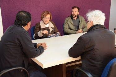 Unicentro sedia reunião com Unitinerante, projeto encabeçado pela Casa Latino-Americana
