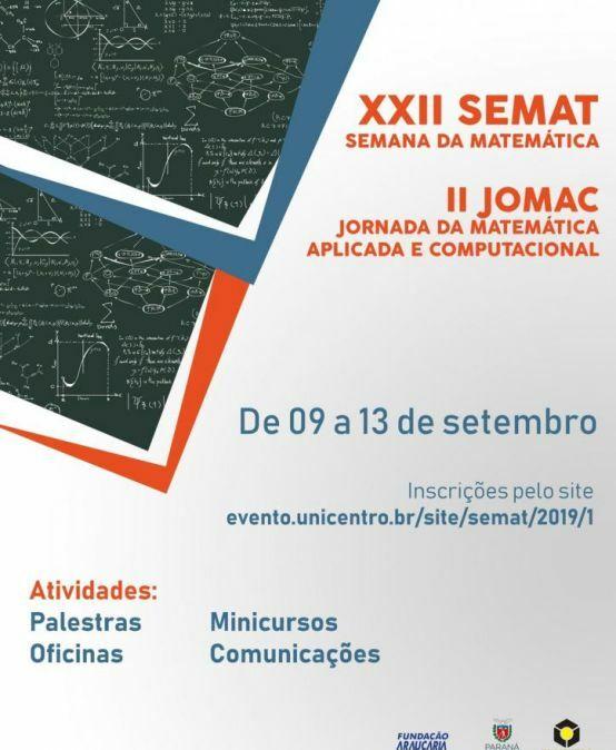 XXII Semana de Matemática e II Jornada da Matemática Aplicada e Computacional