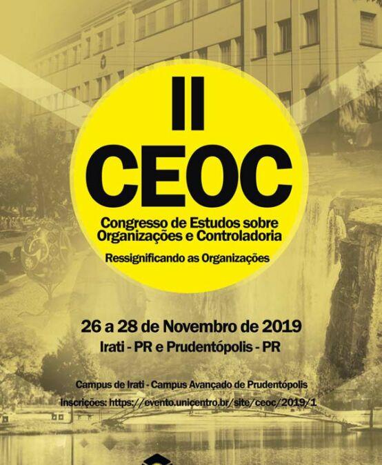 II Ceoc – Congresso de Estudos sobre Organizações e Controladoria