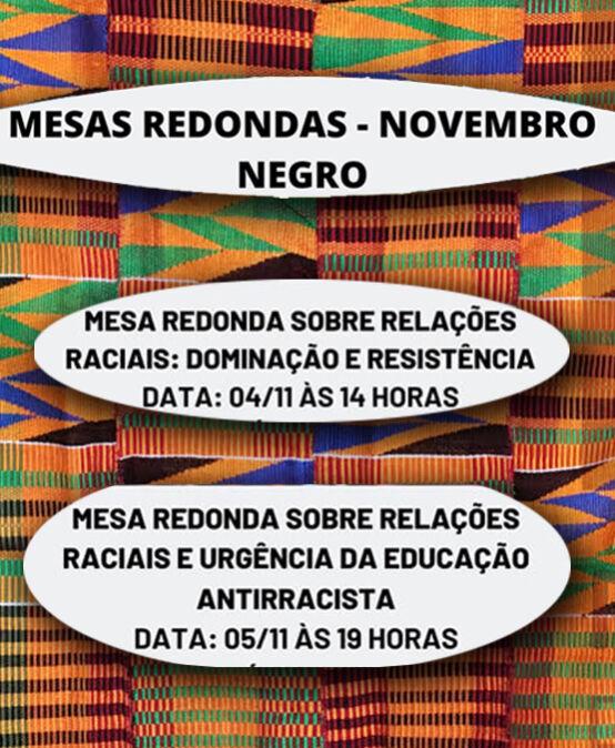Mesas Redondas – Novembro Negro