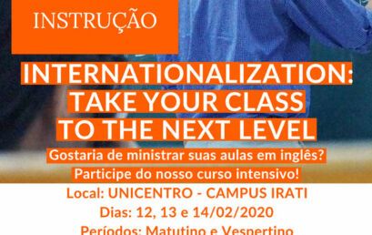 Curso Intensivo EMI – English as a Medium of Instruction