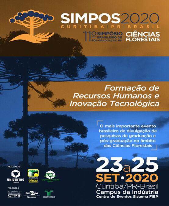 Simpos 2020 – 11º Simpósio Brasileiro de Pós-Graduação em Ciências Florestais