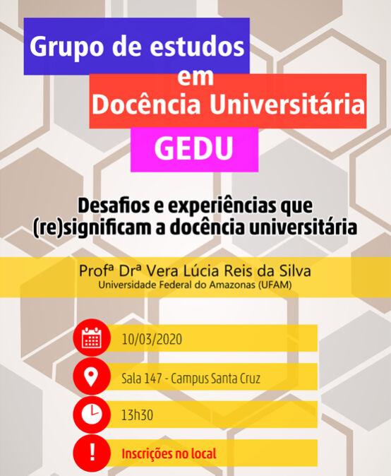 GEDU: Desafios e experiências que (re)significam a docência universitária