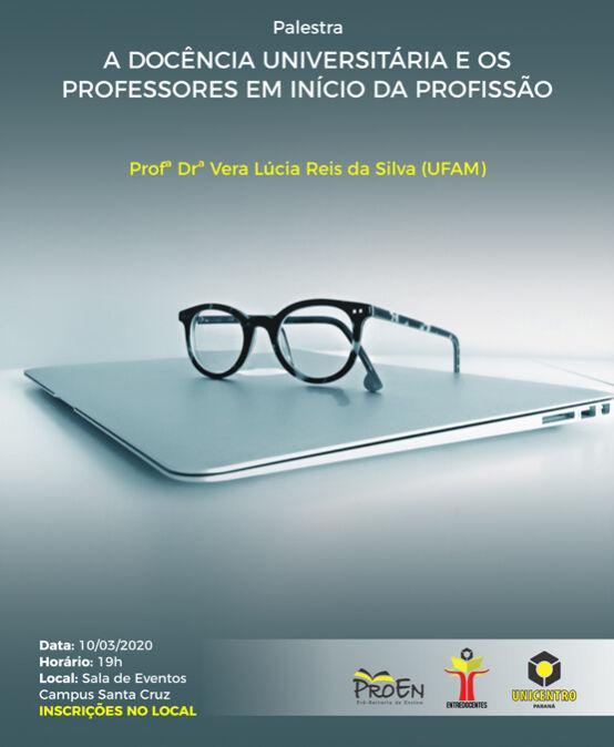 Palestra: A Docência Universitária e os Professores em Início da Profissão