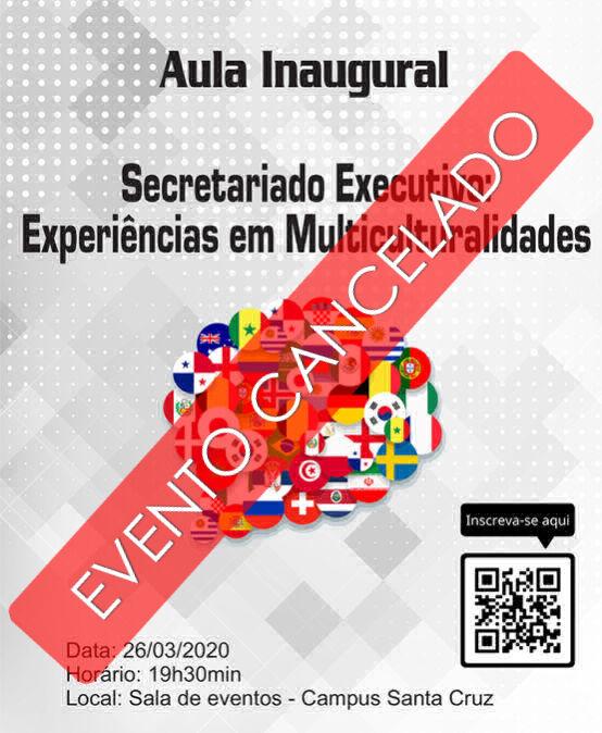 Aula Inaugural – Secretariado Executivo