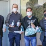 Unicentro entrega materiais de combate ao covid-19 para o município de Laranjeiras do Sul