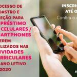 Unicentro inicia processo de seleção de estudantes para disponibilização de celulares