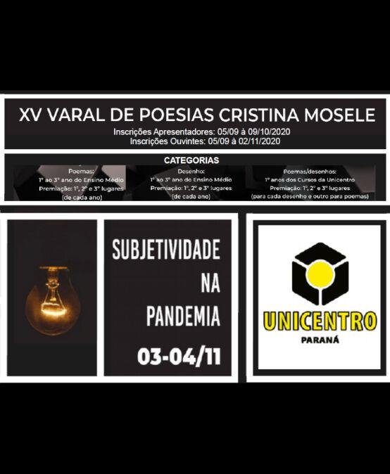 XV Varal de Poesias Cristina Mosele