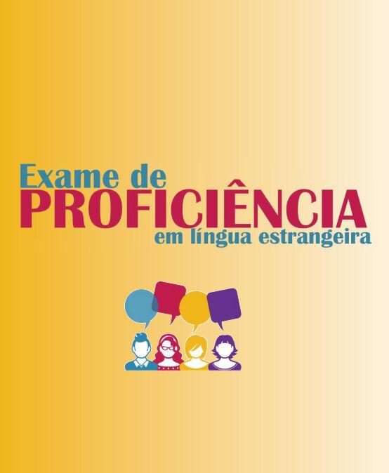 Exame de Proficiência em Língua Estrangeira – Campus Santa Cruz / Guarapuava (2021/1)