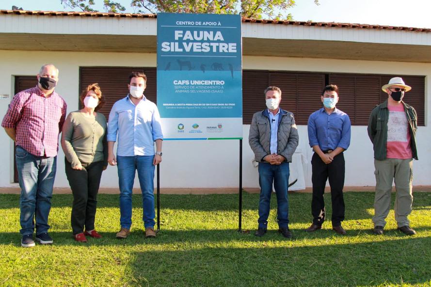 Centro de Apoio à Fauna Silvestre,do campus Cedeteg, é inaugurado