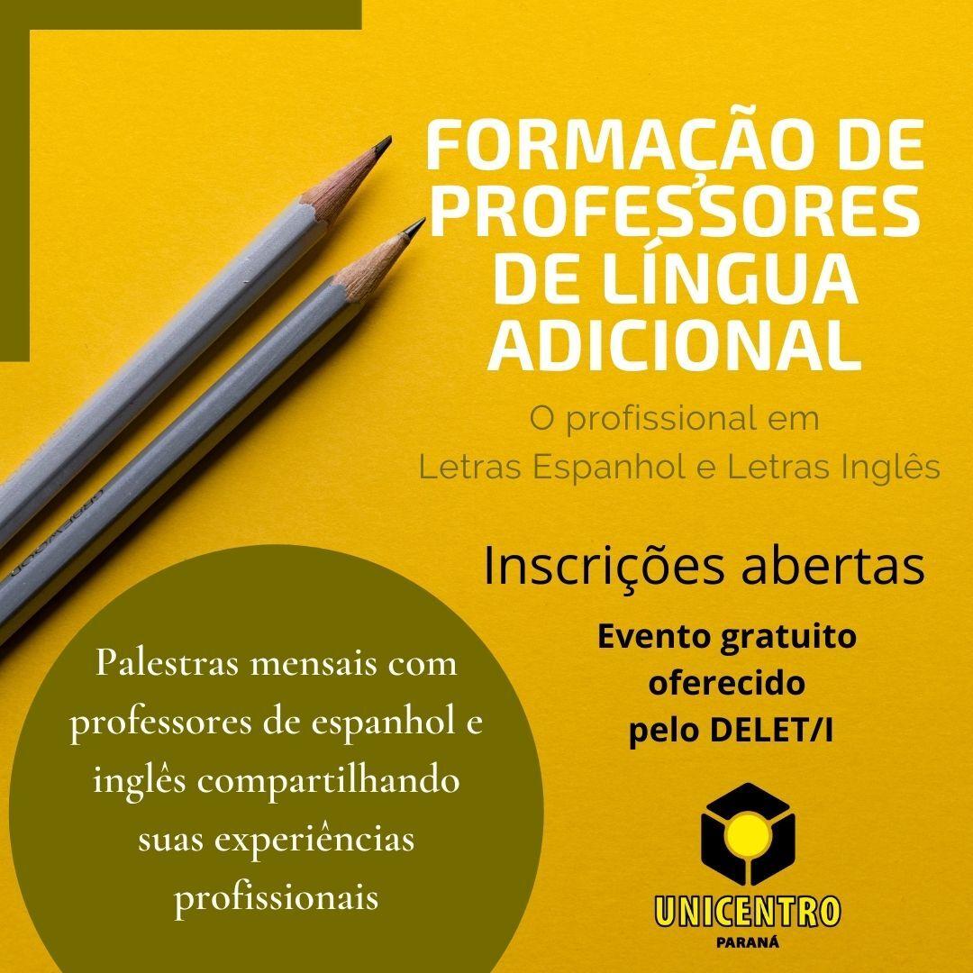 Formação de professores de língua adicional é tema de evento