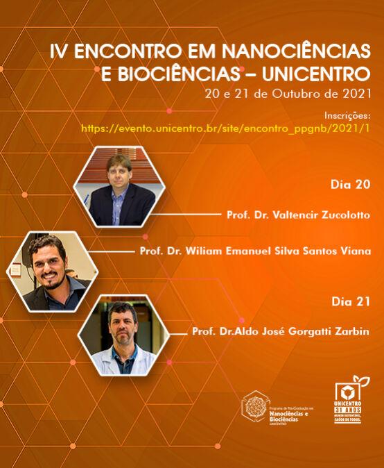 IV Encontro em Nanociências e Biociências