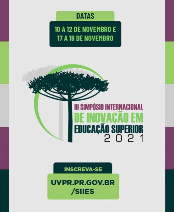 III Simpósio Internacional de Inovação em Educação Superior