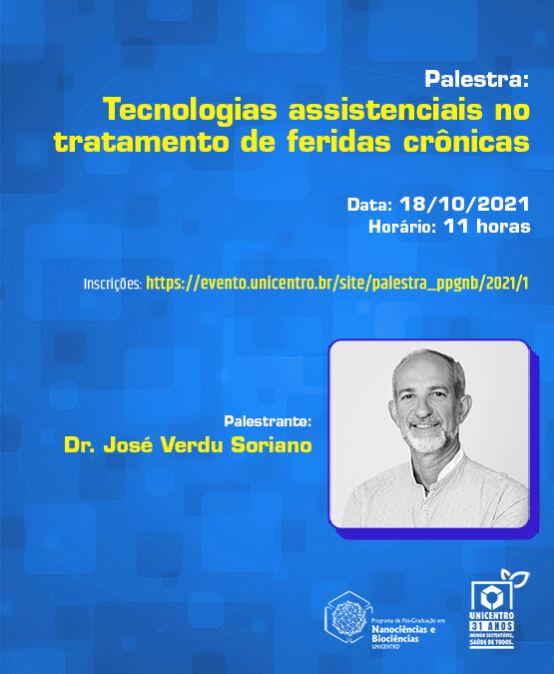 Palestra: Tecnologias assistenciais no tratamento de feridas crônicas